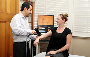 A skin cancer check with Dr. Gordillo